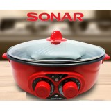 Sonar 2 in 1 BBQ and steamboat
